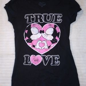 Disney Mickey and Minnie True Love Tee